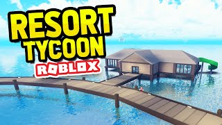 BUNGALOWS UPDATE in ROBLOX TROPICAL RESORT TYCOON
