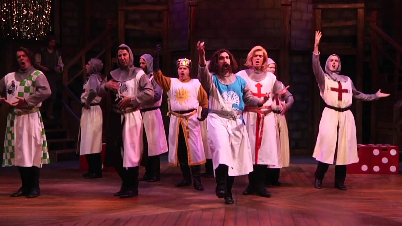 Knights of the round table monty python - Monty Python S Spamalot Knights Of The Round Table