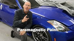 The Story of Paramagnetic Color Changing Paint