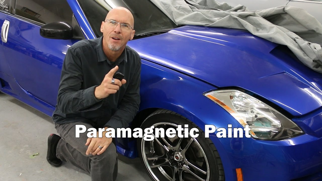 Colour changing car technology - The Story Of Paramagnetic Color Changing Paint