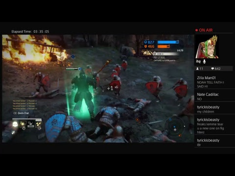 Cap'n Crunch Be Smackin ! ! ! ( LETS ARGUE ) For Honor - 1v1 Duels W/ NoahC ! ! !