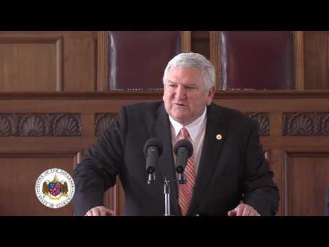 Swearing-In of Alabama Superintendent of Banking