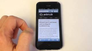 iPhone 5 Anleitung: Eigene Web Apps installieren
