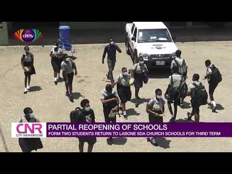Form Two students return to Accra High School for second term | Citi Newsroom