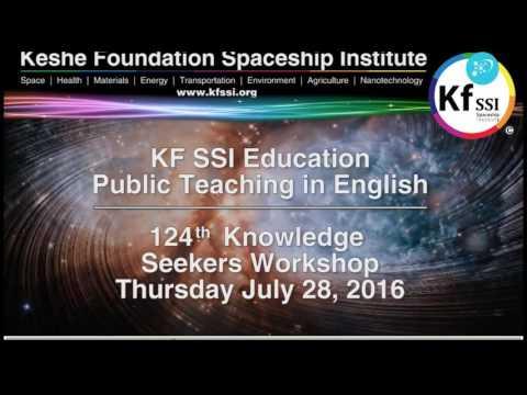 124th Knowledge Seekers Workshop   July 28, 2016 @ 9AM CET