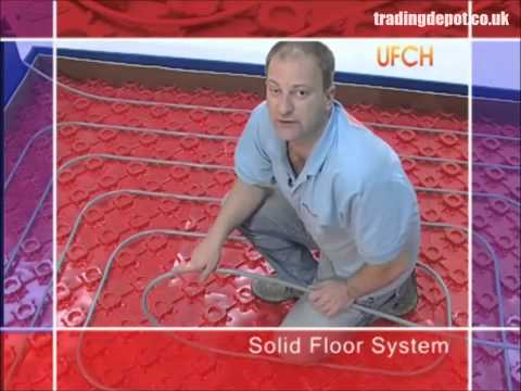How To Fit Polypipe Solid Floor Underfloor Heating