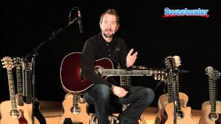 Taylor Guitars Nylon Series Acoustic Guitar Demo - Sweetwater Sound