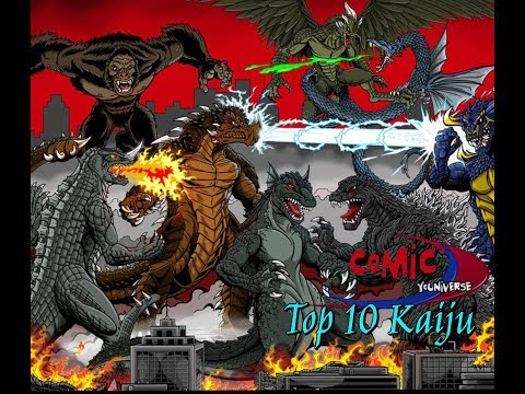 Comic YOUniverse - Our Top 10 Kaiju In Nerd/Geek Culture