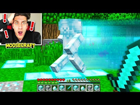 I FOUND DIAMOND STEVE IN MINECRAFT! (SCARY)