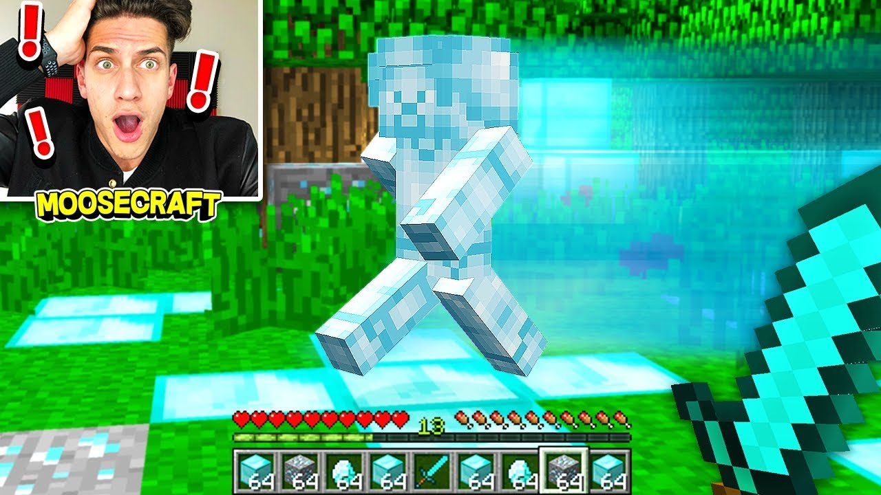 i found diamond steve in minecraft scary youtube