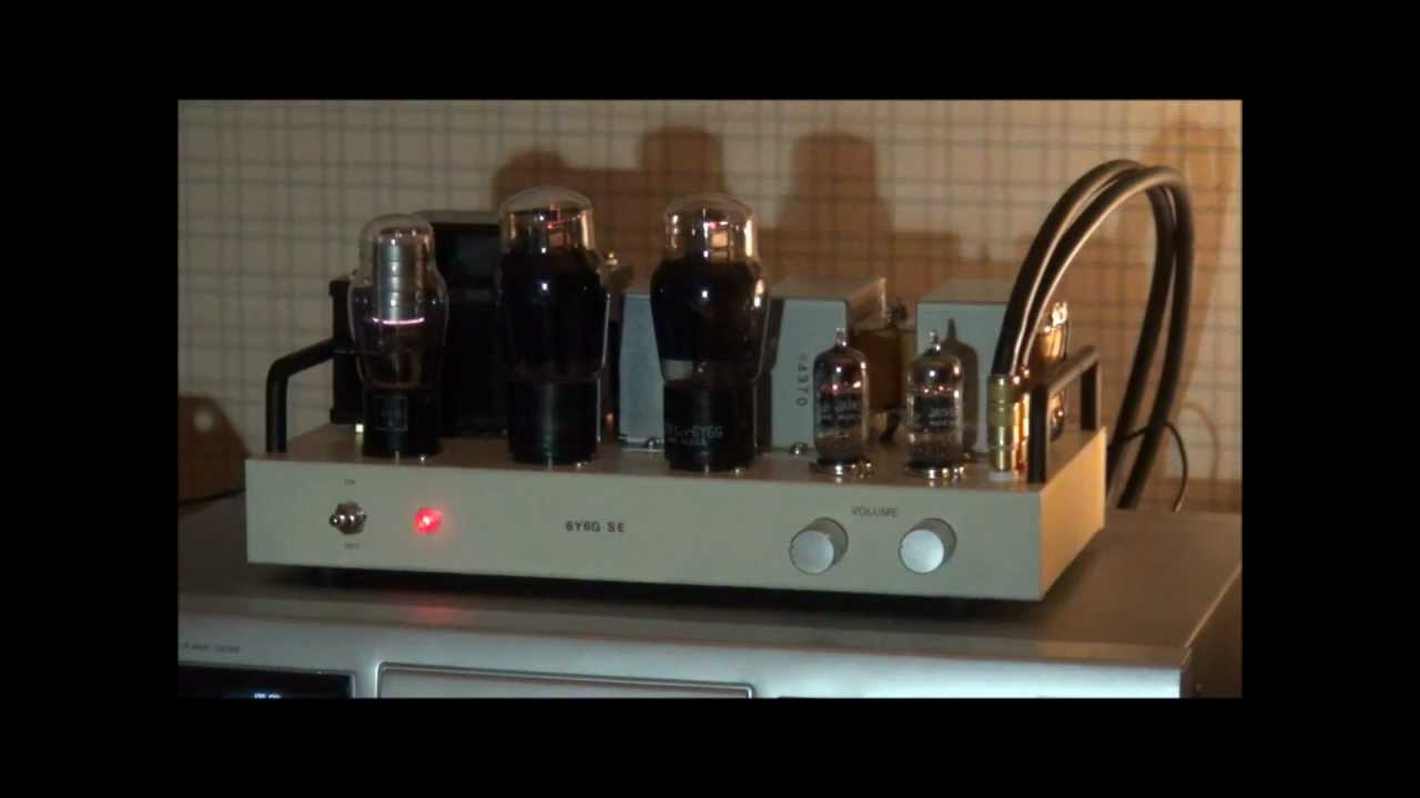 6y6g Single Ended Amplifier Part 3