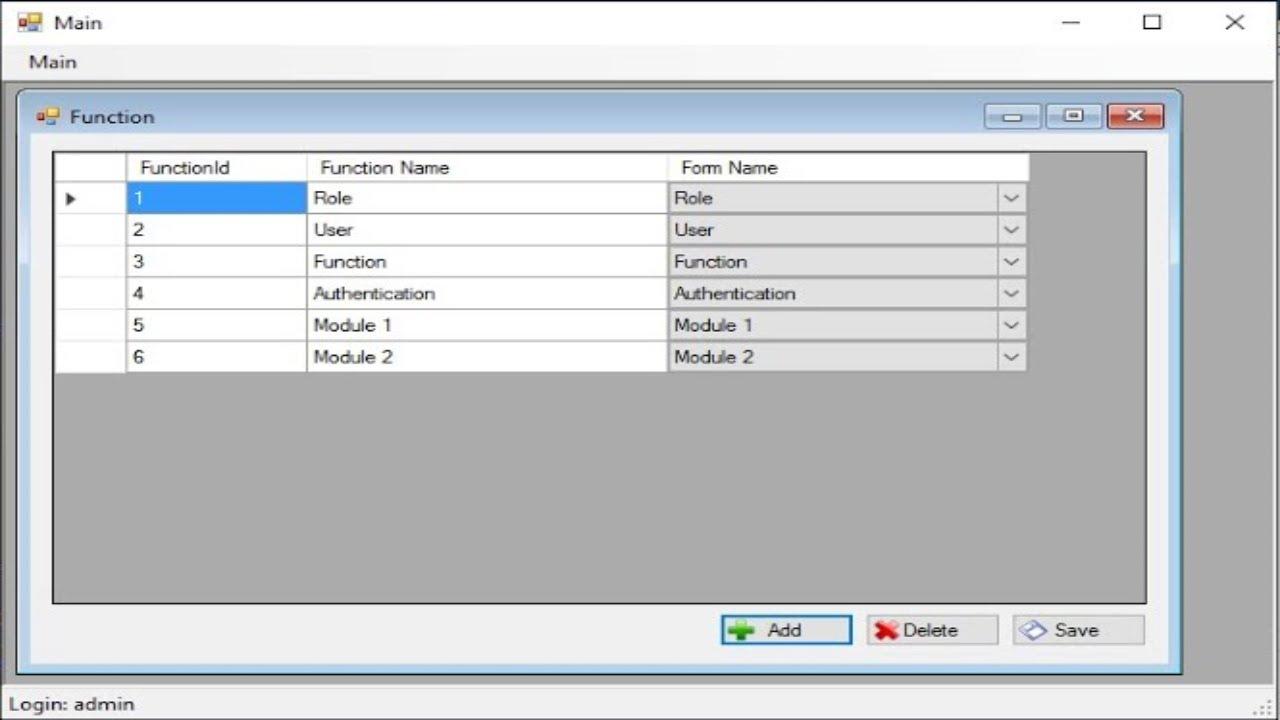 C# Tutorial - Login Windows Authentication in C# Net Winforms #2   FoxLearn