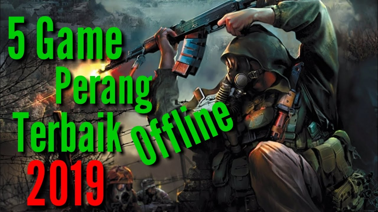 4 game perang offline grafik hd android