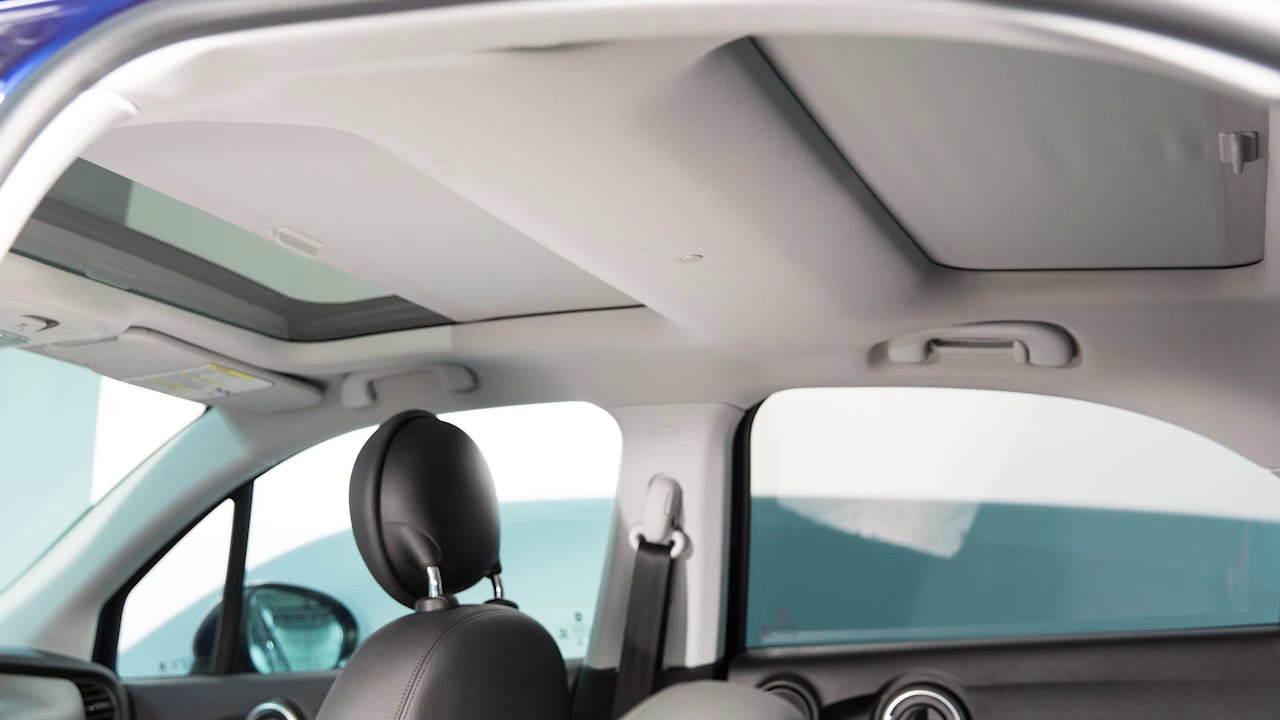 Power Sunroof How To Operate The Sun Roof On 2018 Fiat 500x Youtube Punto Engine Fuse Box