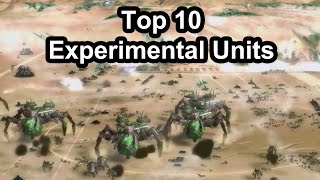 Top 10 Most Powerfull Experimental Units in Supreme Commander Forged Alliance [1080p/HD]