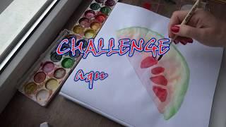 CHALLENGE рисую по МК на YouTube