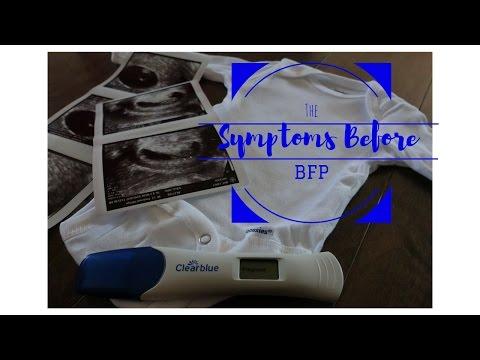 The Symptoms Before BFP---2 Week Wait