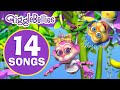 Five Little Monkeys  | Colors Of The Rainbow  | 14 Children Songs & Nursery Rhymes Collection