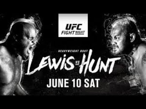 UFC Auckland Lewis v Hunt Fight Predictions