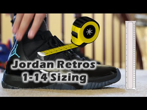 save off 91985 22d6c HOW DO AIR JORDAN RETROS 1-14 FIT? SIZING TIPS