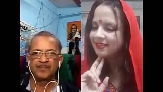 Zara tasveer se tu nikal ke saamne aa ....by Prabhu Dayal Dixit and Anita Vyas