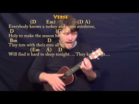 The Christmas Song - Ukulele Cover Lesson in D - Chords/Lyrics