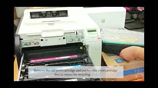 How to install SQUIRREL 305A compatible toner cartridge for HP Laserjet Pro 400