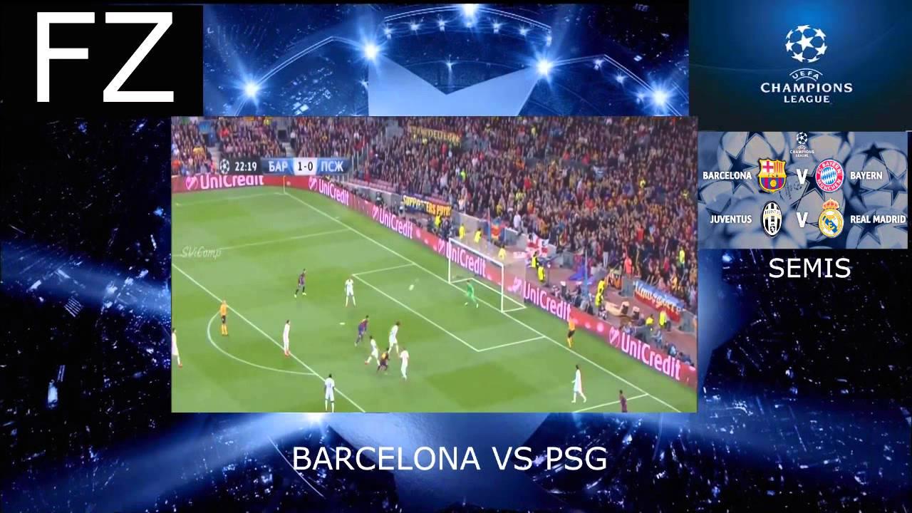 Goles y Reacciones , cuartos de final de la UEFA champions league ...