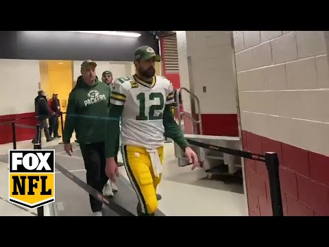 Packers exit the field at Levi's Stadium after losing to 49ers in NFC Championship game | FOX NFL