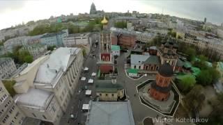 Колокольный звон в Высоко-Петровском монастыре 2