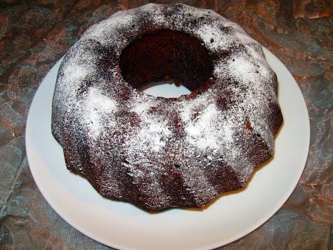Шоколадный кекс с мандаринами / Очень вкусный, сочный, простой пошаговый  рецепт