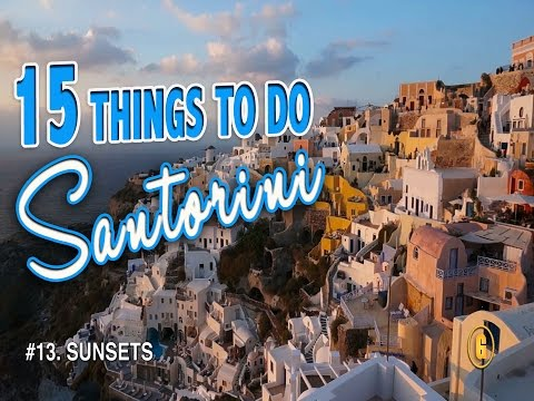 15 BEST THINGS TO DO IN SANTORINI  ♥ Santorini Greece Travel