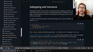 Crust of Rust: Subtyping and Variance