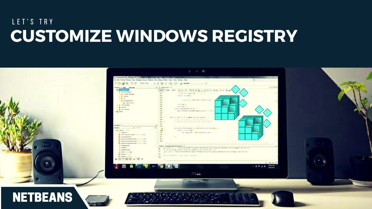 How To Manage Windows Registry In Windows 7 Through Java Netbeans Form