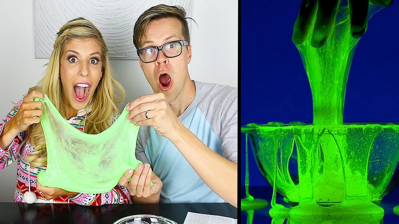 How to make glow in the dark slime without borax day 106 youtube how to make glow in the dark slime without borax day 106 ccuart Choice Image