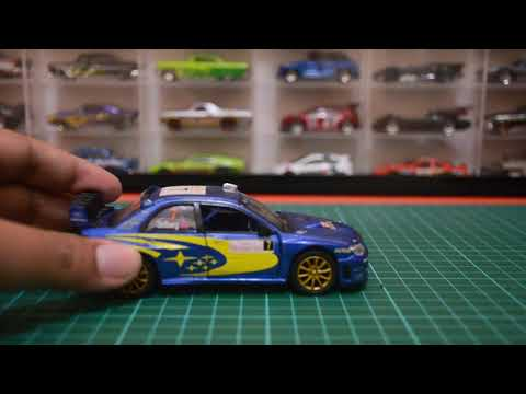 Diecast Subaru Impreza WRC 2007 From Kinsmart | Unboxing & Review