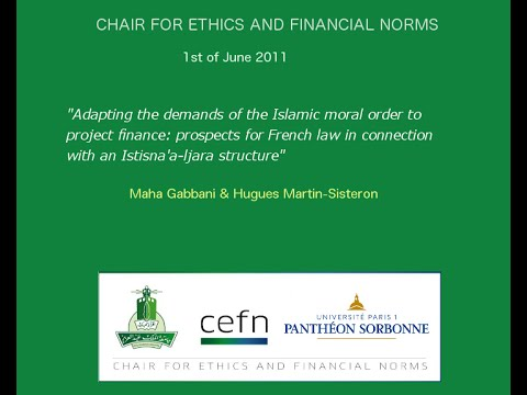 Adapting the demands of the islamic moral order to project finance