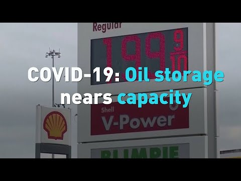 COVID-19: Oil storage nears capacity