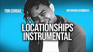 "YBN Cordae ""Locationships"" Instrumental Prod. by Dices *FREE DL* Video"