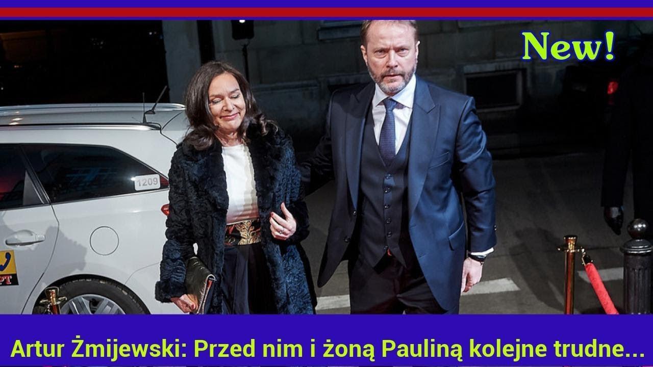Artur Żmijewski: Przed nim i żoną Pauliną kolejne trudne chwile?