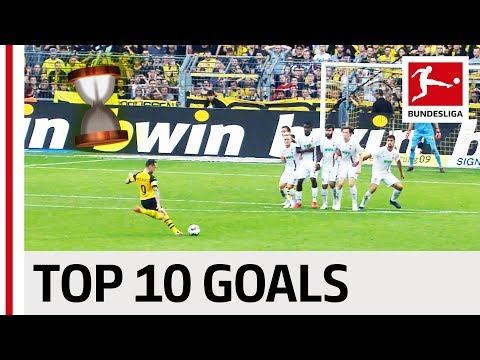 Top 10 Most Dramatic Goals 2018/19 - Reus, Jovic, Alcacer & Co.