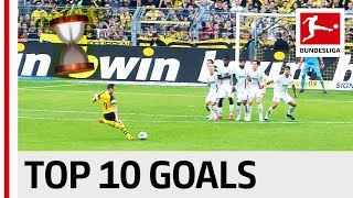 Top 10 Most Dramatic Goals 2018/19 - Reus, Jovic, Alcacer & Co.