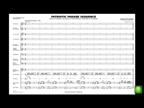 Patriotic Parade Sequence arr. Paul Lavender & Will Rapp