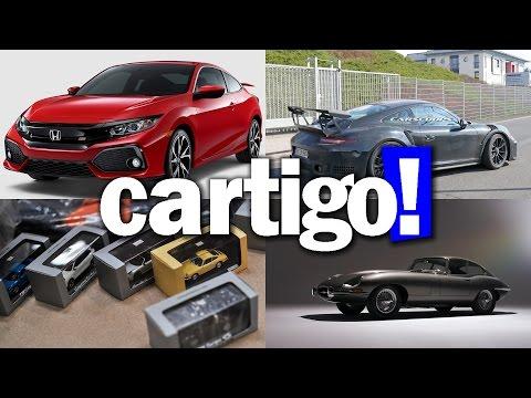 Cartigo! #18 - Centro de Peças Porsche, Civic SI, E Type Reborn, GT3 RS, GT3,