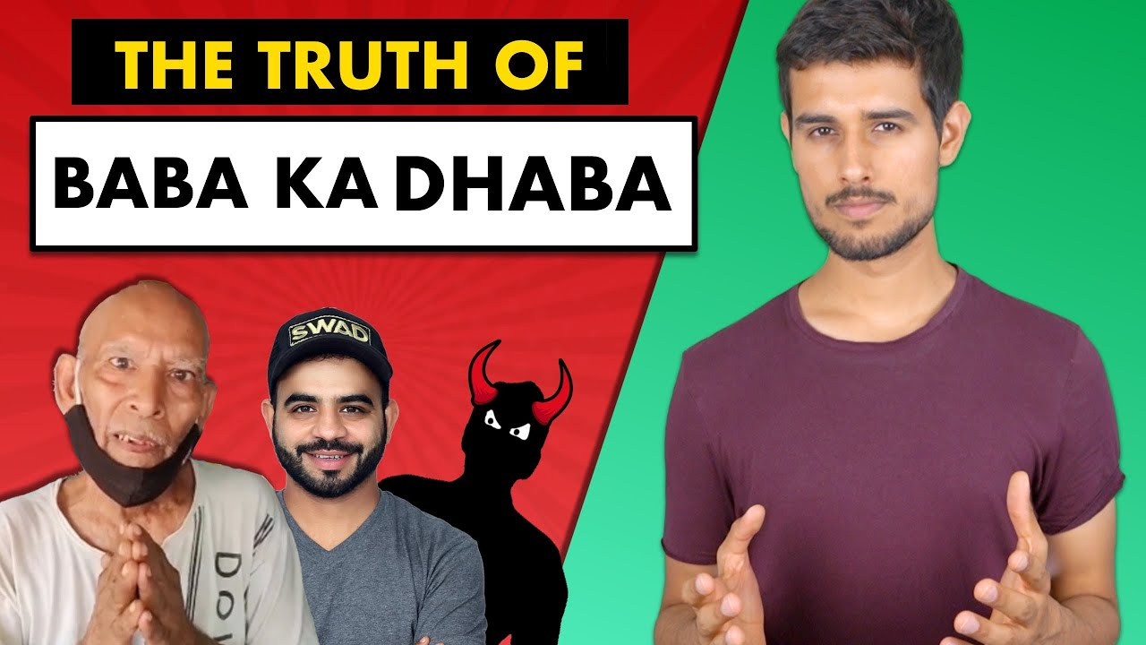 Baba Ka Dhaba | What We Can Learn | The Full Story | Dhruv Rathee