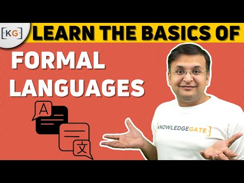 Basics of Formal language | TOC | part-5