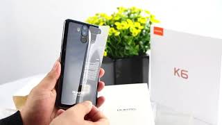 Ouktel k6 Smartphone Unboxing + Hand On