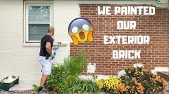 How To Paint Exterior Brick