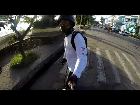 A tour at Dumaguete City Philippines on a wheelman.