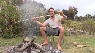 Bending bow tips | Primitive tim